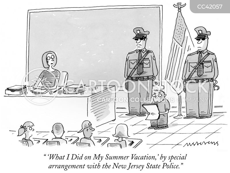 Summer cartoon