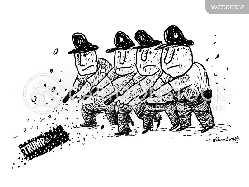 shoot cartoon