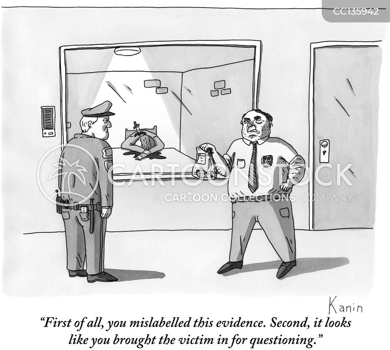 homicide cartoon