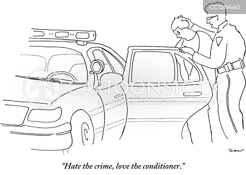Police cartoon