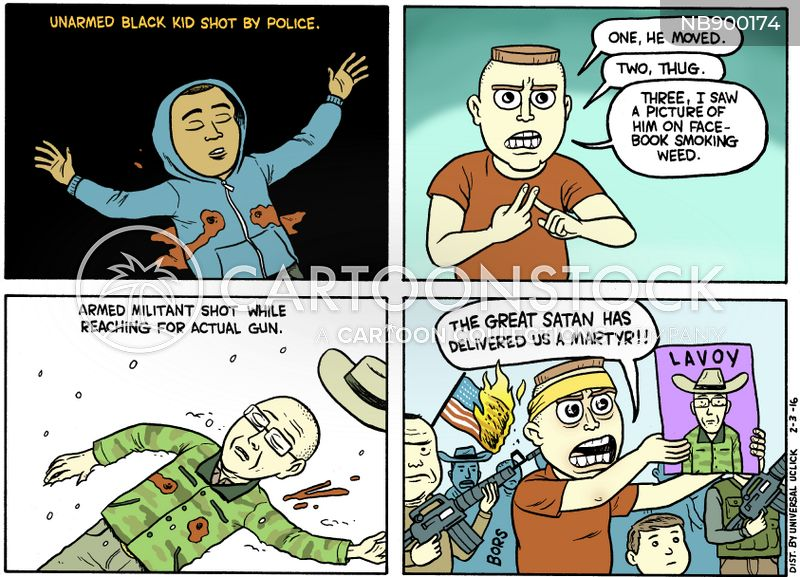 police brutality cartoon