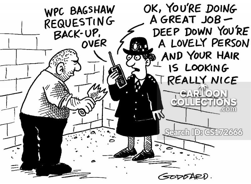 request back up cartoon