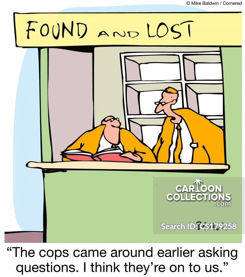 found and lost cartoon
