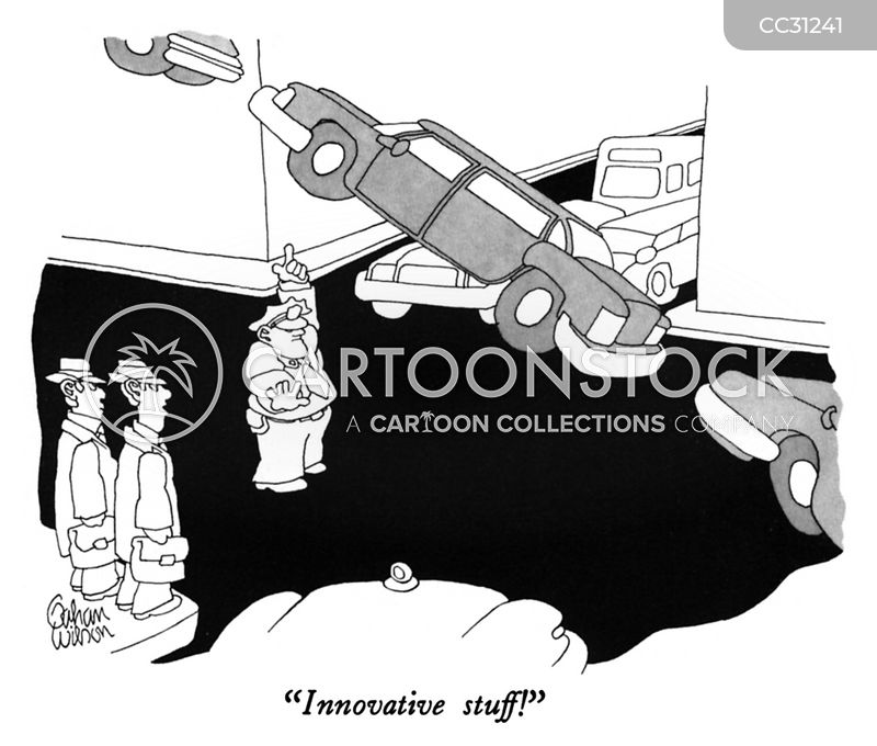 innovators cartoon