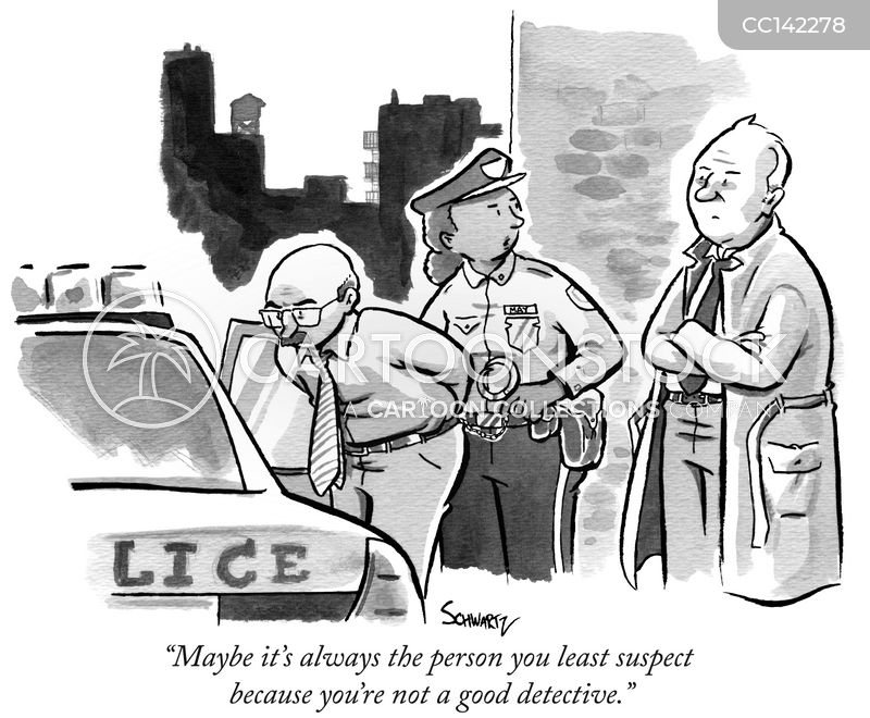 suspect cartoon