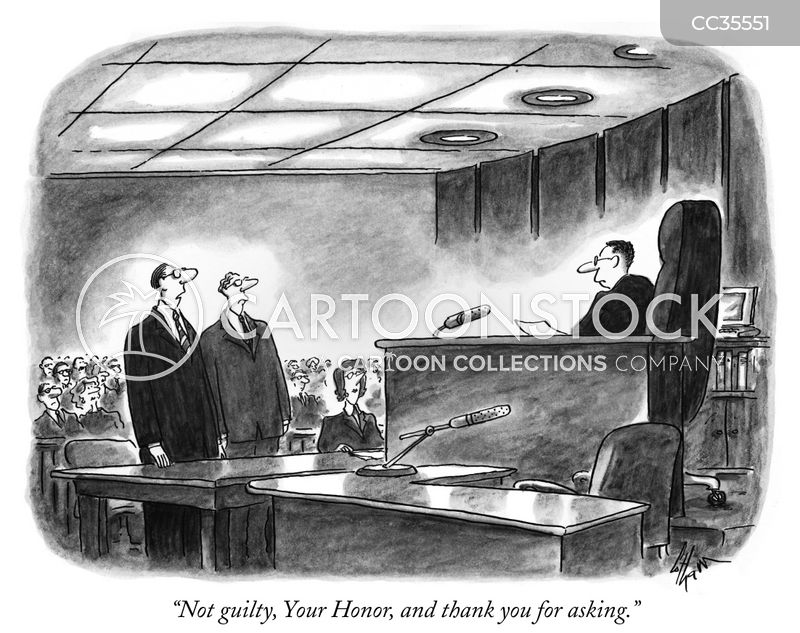 jury cartoon