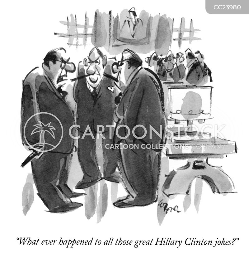 hillary cartoon