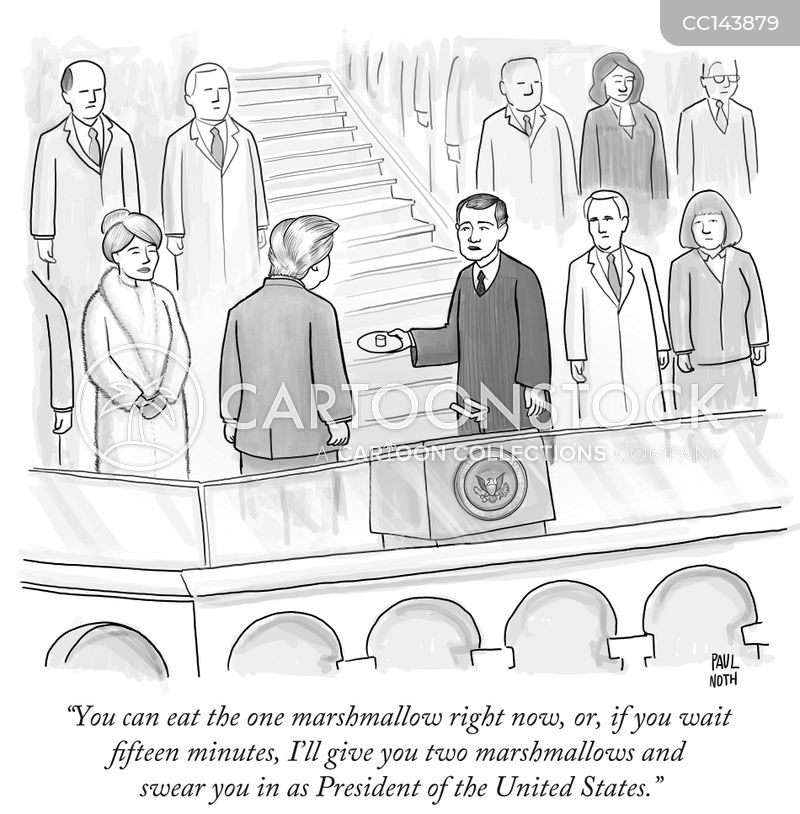 inauguration cartoon