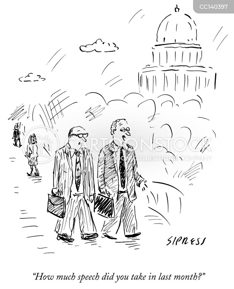 Retired Senator cartoon
