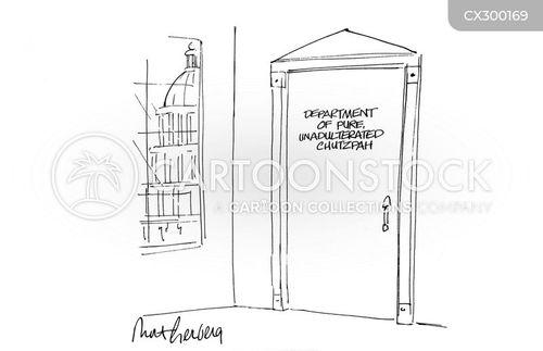government department cartoon