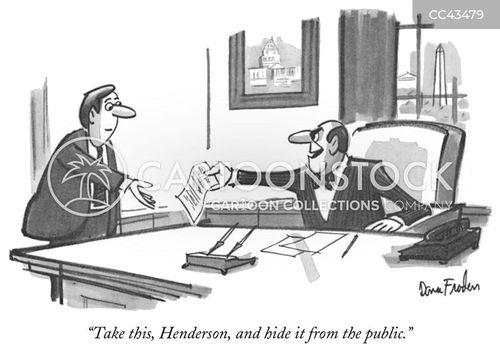 distrust cartoon