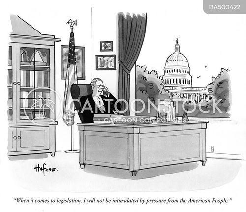pressured cartoon