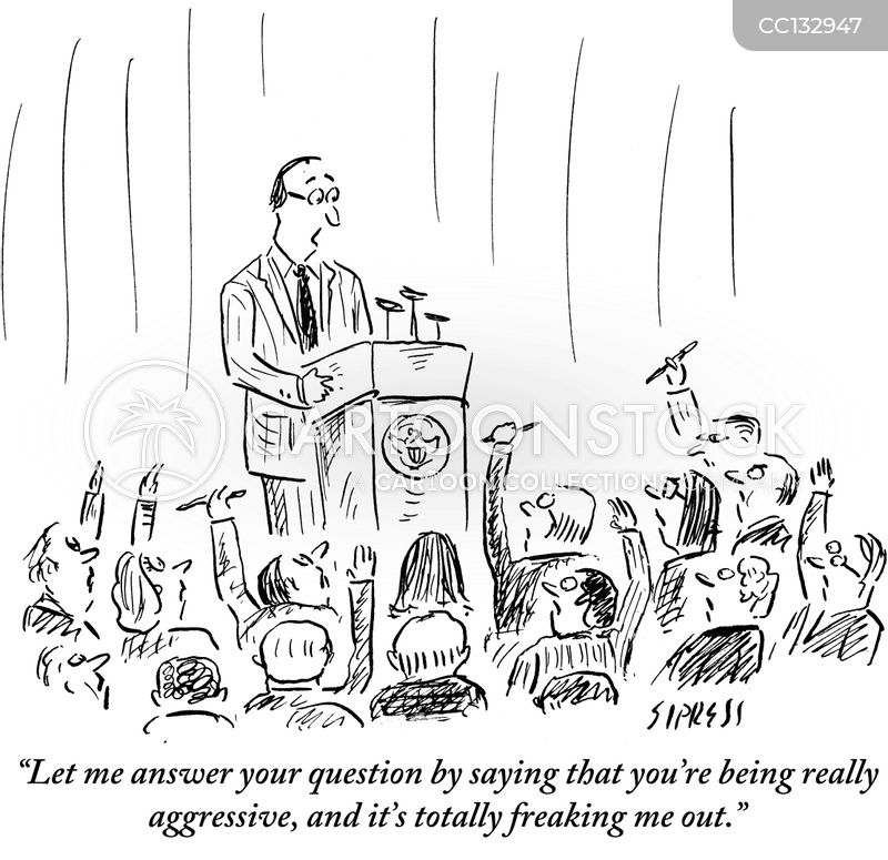Q&a cartoon