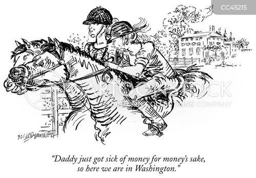 wealthiness cartoon