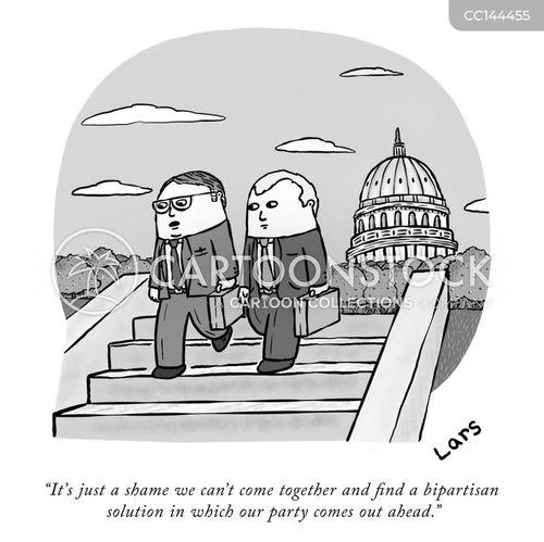 political gridlock cartoon