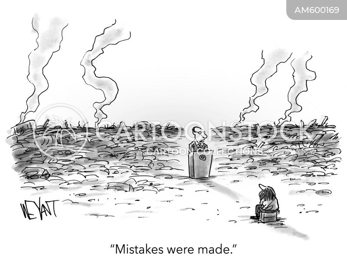non-apology cartoon