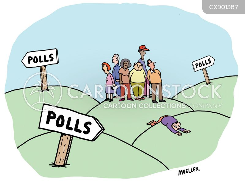 voting intentions cartoon