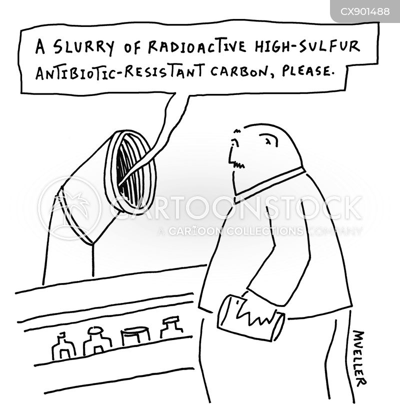 radioactive slurry cartoon