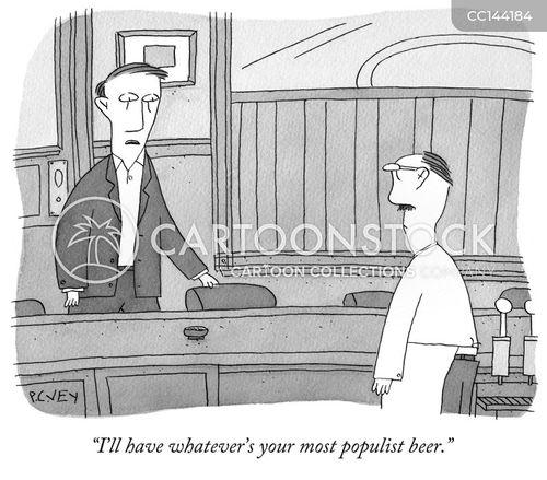 populist cartoon