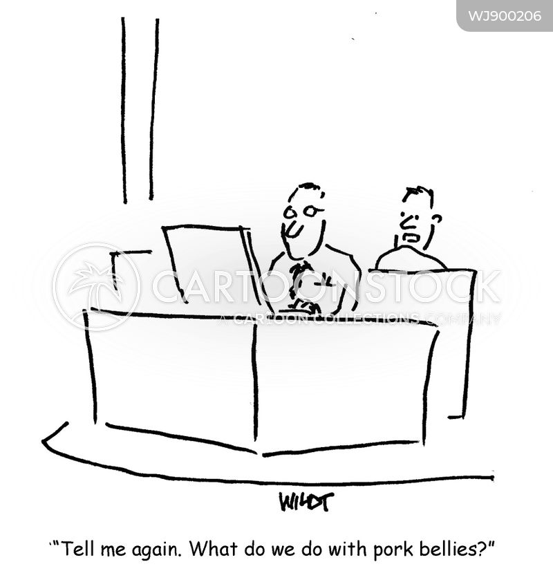 office desk cartoon