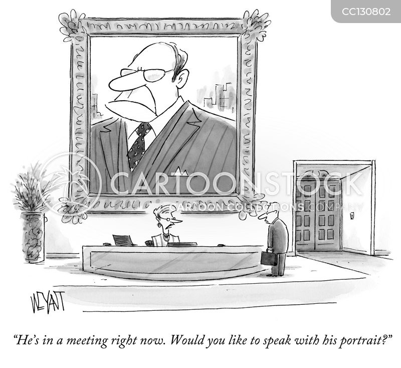 personal assistants cartoon