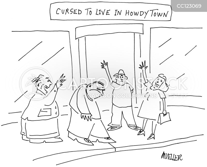 optimists cartoon