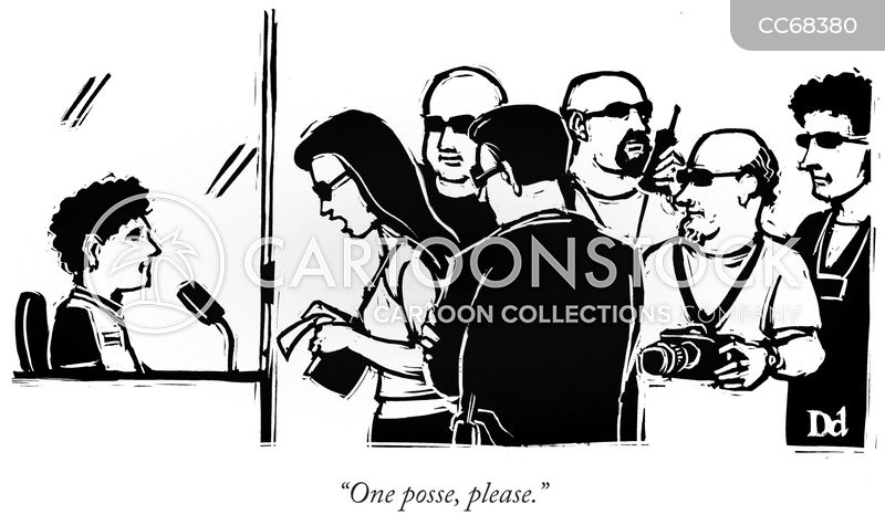 gangs cartoon