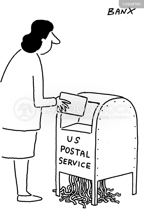 post offices cartoon