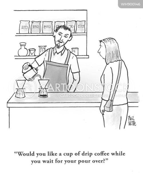 drinks order cartoon