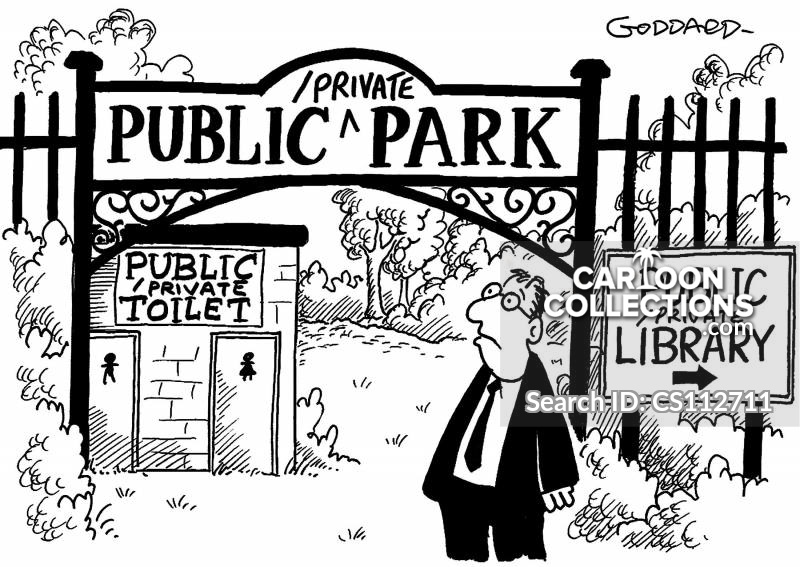 Private Property cartoon