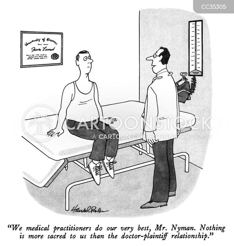 doctor-patient relationships cartoon