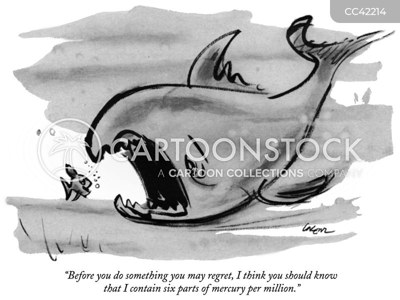 seafood cartoon