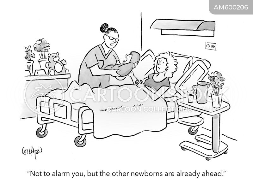 midwifery cartoon