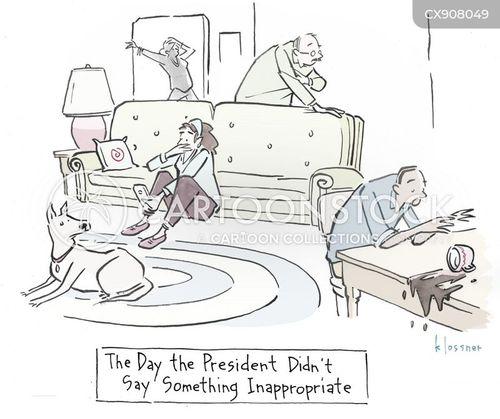 us president cartoon