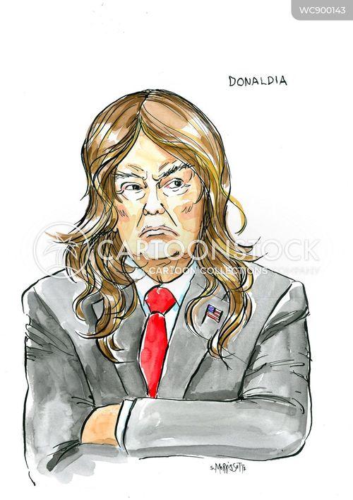 impeachment cartoon