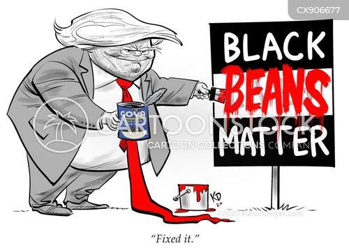 discriminating cartoon