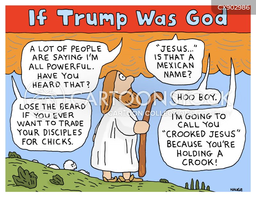 trump speeches cartoon