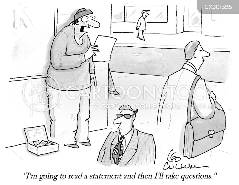 statements cartoon