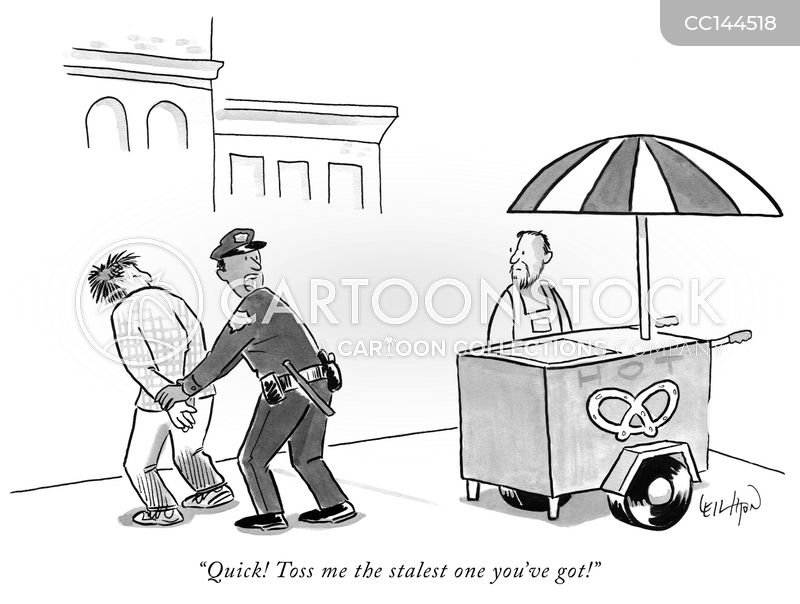 arrest cartoon