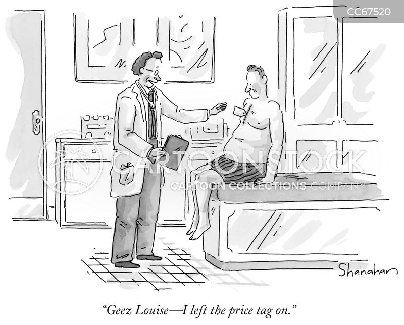 in surgery cartoon