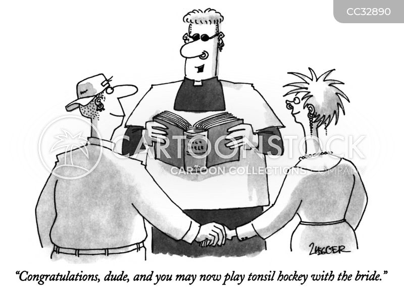 tonsil hockey cartoon