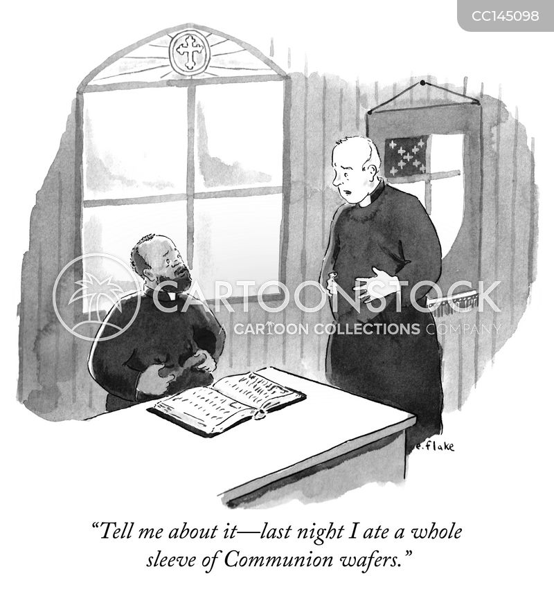 catholics cartoon