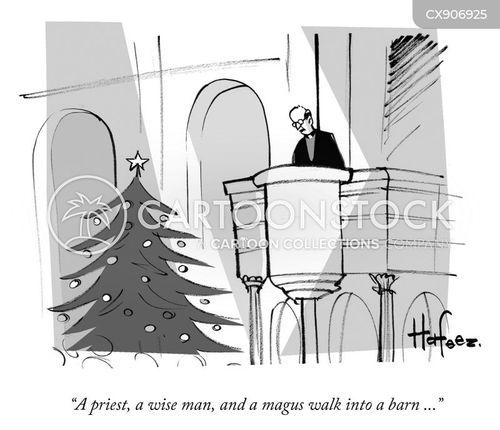 xmas holiday cartoon