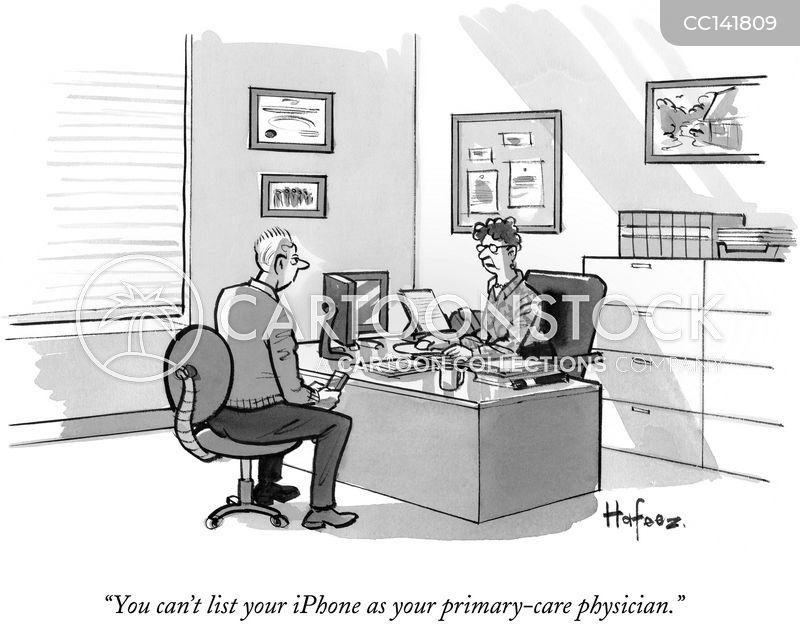 Primary-care cartoon