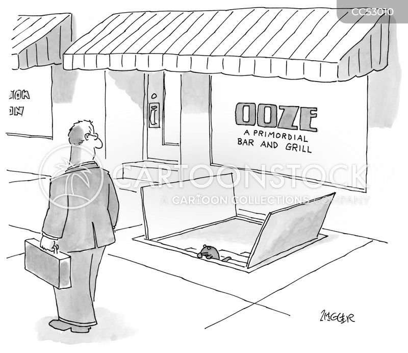 primordial ooze cartoon