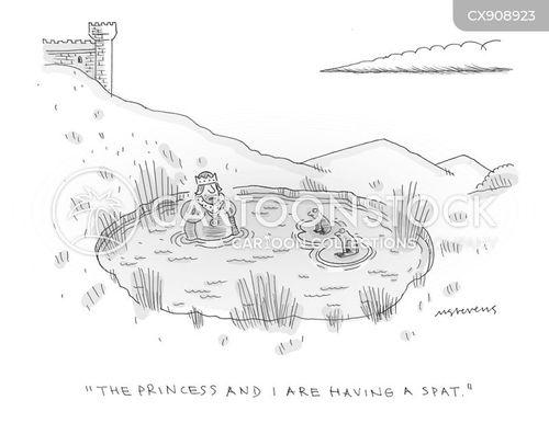 damp cartoon