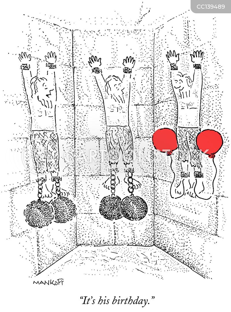torture chambers cartoon