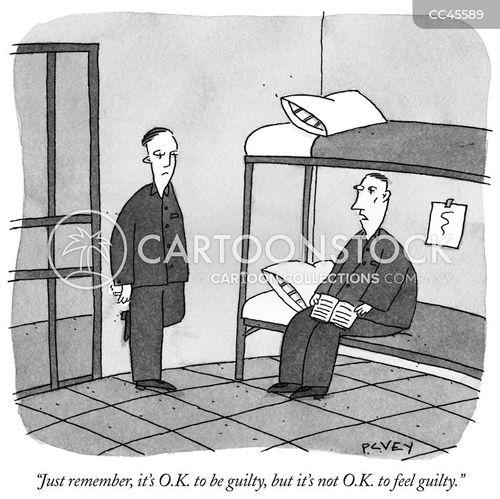 convicted cartoon