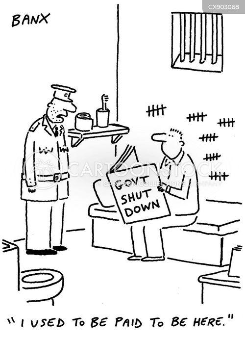 government employees cartoon