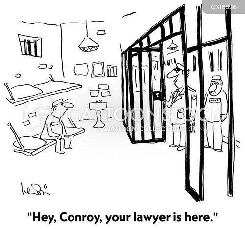prison guards cartoon